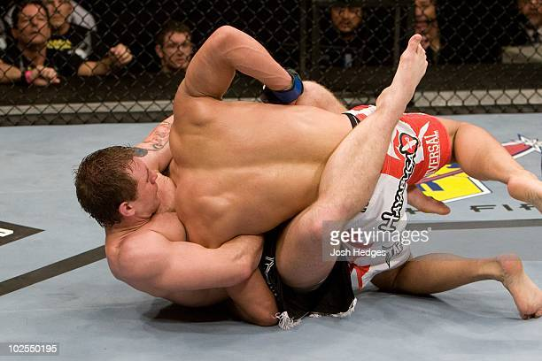 Alan Belcher def Denis Kang Submission 436 round 2 during the UFC 93 at O2 arena on January 17 2009 in Dublin Ireland
