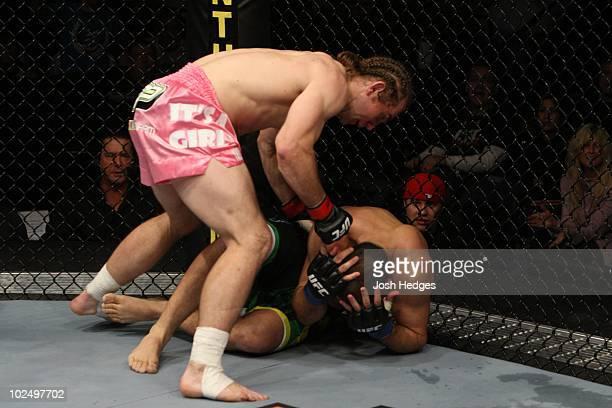 Alan Belcher def Wilson Gouveia TKO 303 round 1 during UFC 107 at FedExForum on December 12 2009 in Memphis Tennessee