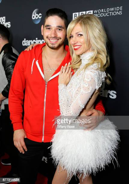 Alan Bersten and Debbie Gibson at The Grove Hosts Dancing with the Stars Live Finale at The Grove on November 21 2017 in Los Angeles California
