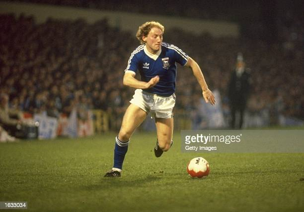 Alan Brazil of Ipswich Town in action during a match Mandatory Credit Allsport UK /Allsport