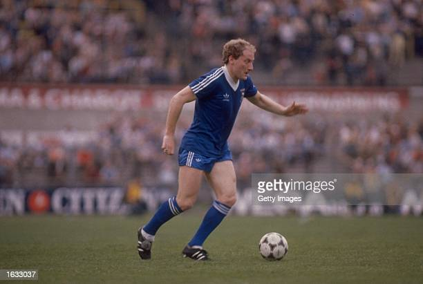 Alan Brazil of Ipswich Town in action during a UEFA Cup match Mandatory Credit Allsport UK /Allsport