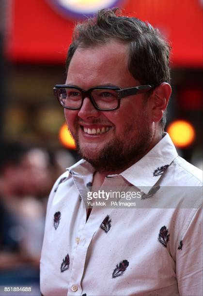 Alan Carr arriving for the premiere of Alan Partridge Alpha Papa at the Vue West End in Leicester Square central London