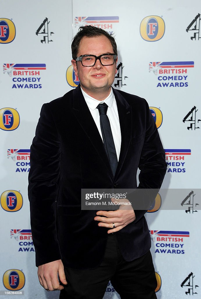 Alan Carr attends the British Comedy Awards at Fountain Studios on December 12, 2012 in London, England.