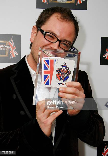 Alan Carr attends the British Comedy Awards at London Studios December 5 2007 in London England