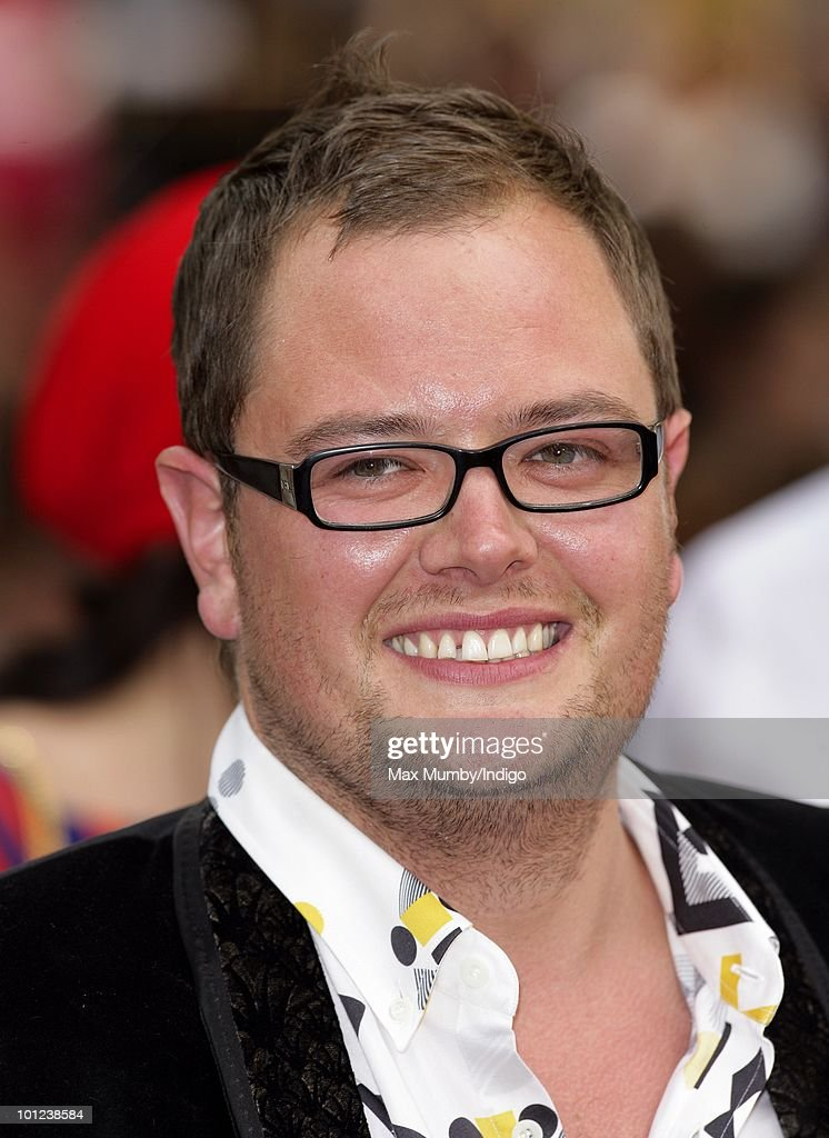 Alan Carr attends the UK premiere of Sex And The City 2 at Odeon Leicester Square on May 27, 2010 in London, England.