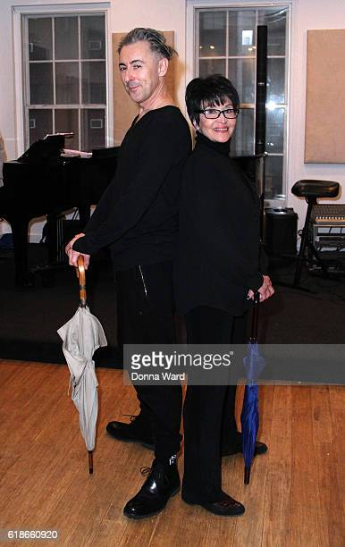 Alan Cumming and Chita Rivera appear during the 'Chita Nowadays' Musical Sneak Peek at Michiko Studio on October 27 2016 in New York City