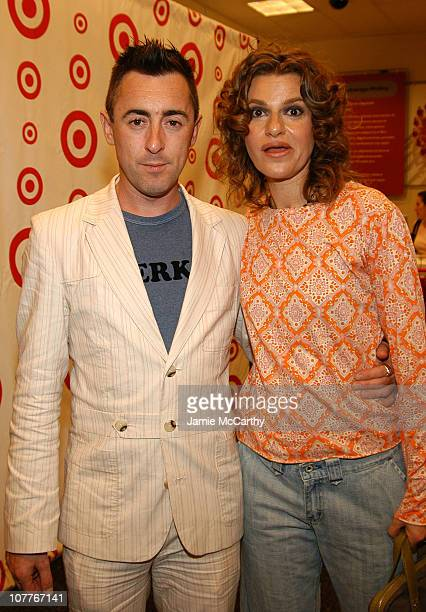 Alan Cumming and Sandra Bernhard during Grand Opening of Target Store on Flatbush Avenue in Brooklyn at Target Store Flatbush Avenue in Brooklyn New...