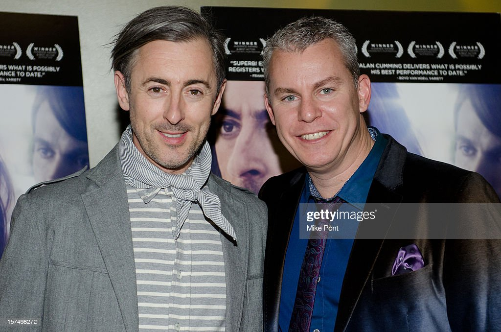 <a gi-track='captionPersonalityLinkClicked' href=/galleries/search?phrase=Alan+Cumming&family=editorial&specificpeople=202521 ng-click='$event.stopPropagation()'>Alan Cumming</a> and Travis Fine attend the 'Any Day Now' premiere at Sunshine Landmark on December 3, 2012 in New York City.