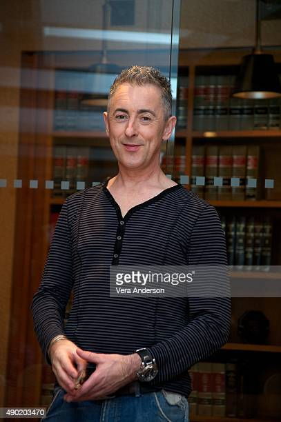 Alan Cumming at 'The Good Wife' Set Visit at on September 25 2015 at Stages in Brooklyn New York