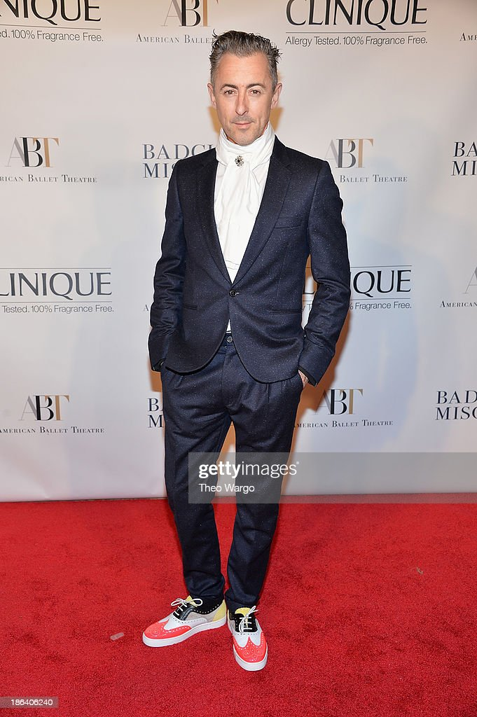 Alan Cumming attends American Ballet Theatre 2013 Opening Night Fall gala at David Koch Theatre at Lincoln Center on October 30, 2013 in New York City.