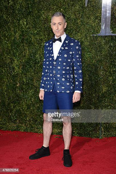 Alan Cumming attends American Theatre Wing's 69th Annual Tony Awards at Radio City Music Hall on June 7 2015 in New York City
