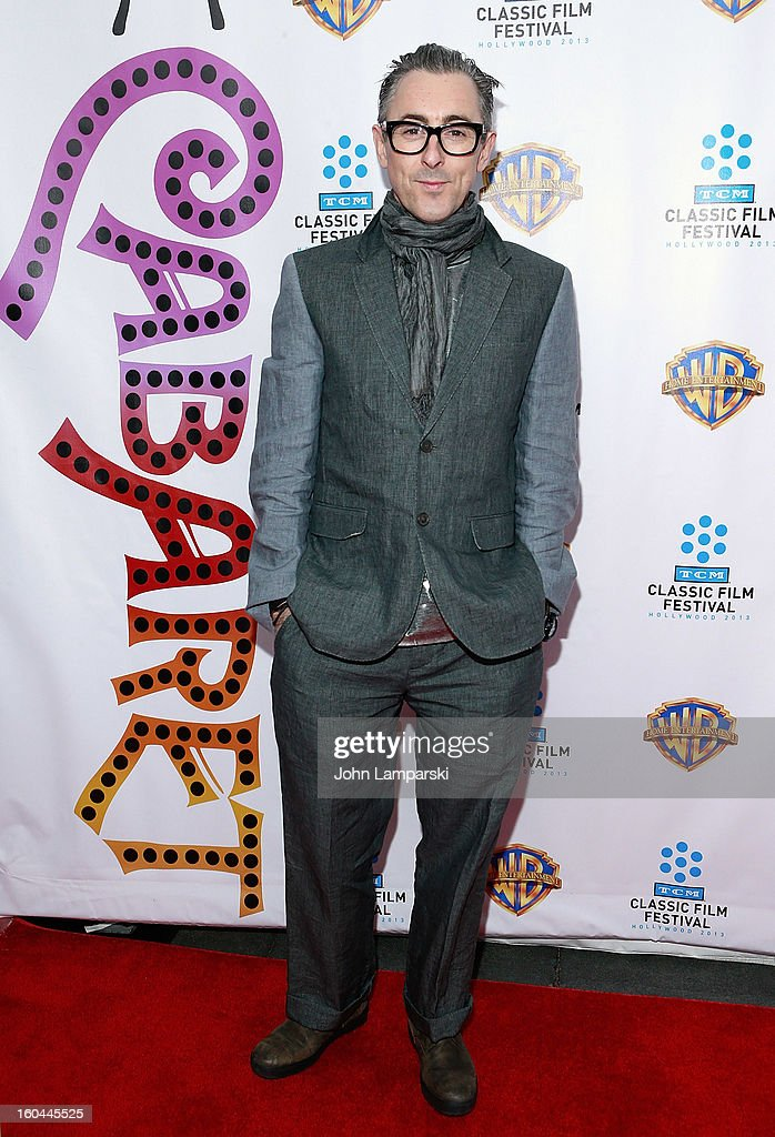 Alan Cumming attends 'Cabaret' 40th Anniversary New York Screening at Ziegfeld Theatre on January 31, 2013 in New York City.