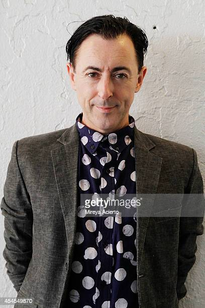 Alan Cumming attends fashion presentations during New York Men's Day at Industria Studios on September 3 2014 in New York City