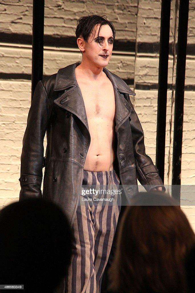 <a gi-track='captionPersonalityLinkClicked' href=/galleries/search?phrase=Alan+Cumming&family=editorial&specificpeople=202521 ng-click='$event.stopPropagation()'>Alan Cumming</a> attends the Broadway opening night of 'Cabaret' at Studio 54 on April 24, 2014 in New York City.