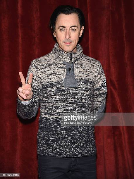 Alan Cumming attends The New York Special Screening Of Lucasfilm's STRANGE MAGIC At The Tribeca Grand Hotel Hosted By The Cinema Society on January...