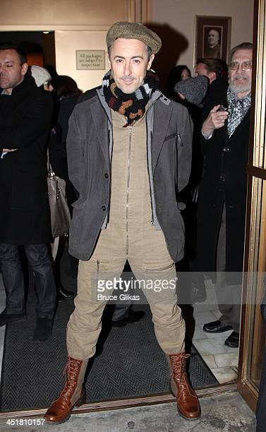 Alan Cumming attends the opening night of 'Waiting For Godot' at the Cort Theatre on November 24 2013 in New York City