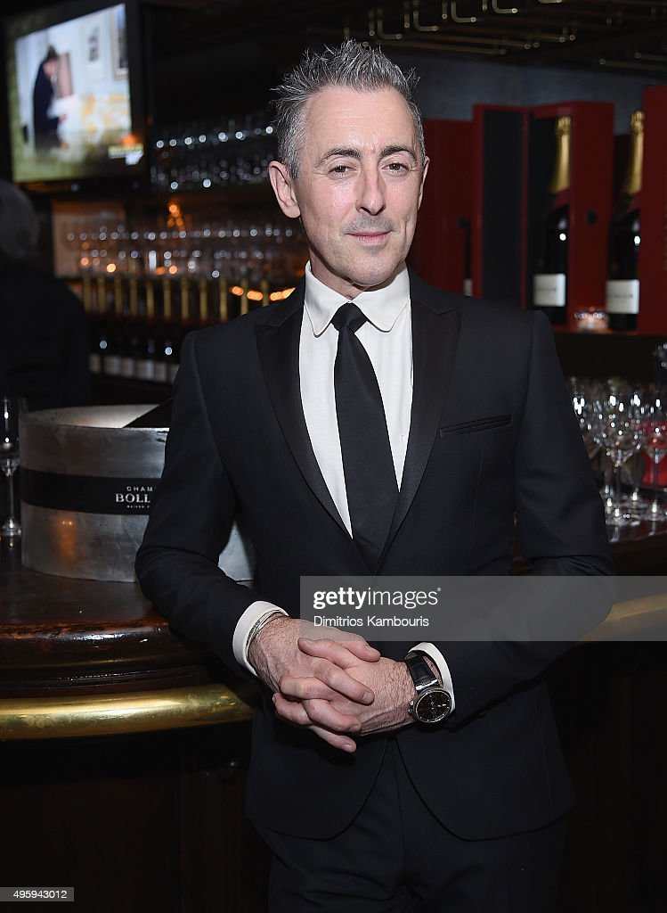 <a gi-track='captionPersonalityLinkClicked' href=/galleries/search?phrase=Alan+Cumming&family=editorial&specificpeople=202521 ng-click='$event.stopPropagation()'>Alan Cumming</a> attends the the after party for the 'Spectre' pre-release screening hosted by Champagne Bollinger and The Cinema Society on November 5, 2015 in New York City.