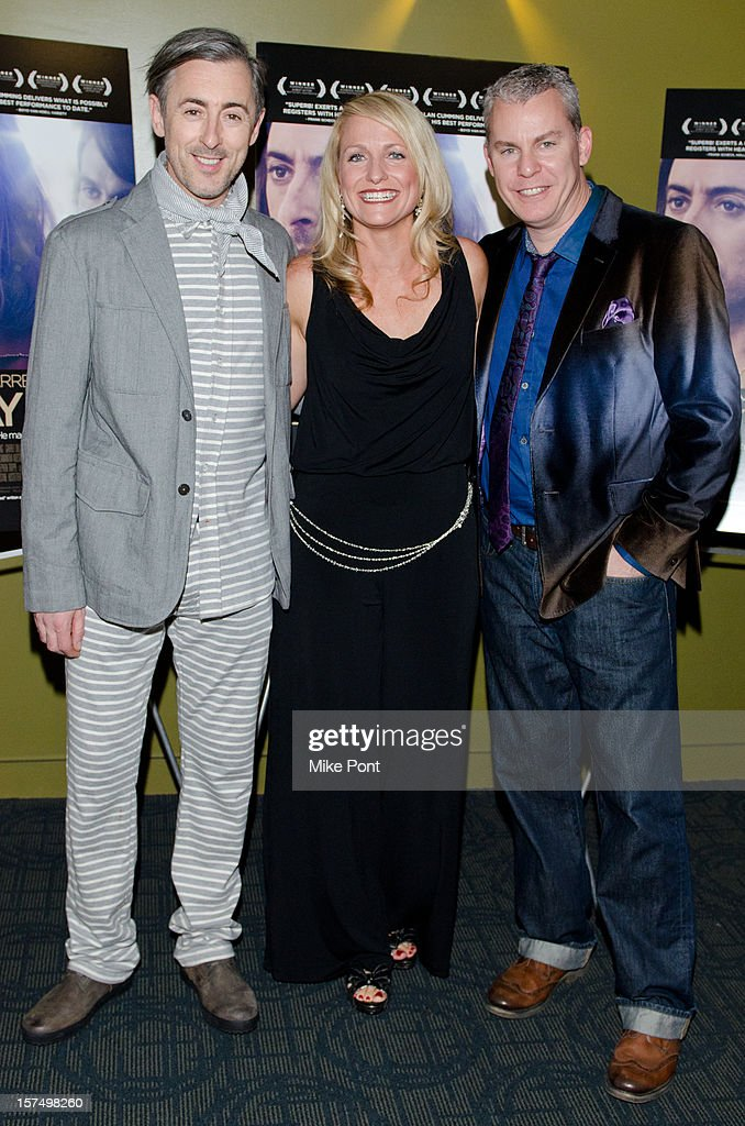 <a gi-track='captionPersonalityLinkClicked' href=/galleries/search?phrase=Alan+Cumming&family=editorial&specificpeople=202521 ng-click='$event.stopPropagation()'>Alan Cumming</a>, Christina Fine and Travis Fine attends the 'Any Day Now' premiere at Sunshine Landmark on December 3, 2012 in New York City.