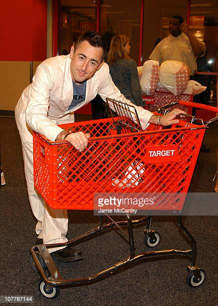 Alan Cumming during Grand Opening of Target Store on Flatbush Avenue in Brooklyn at Target Store Flatbush Avenue in Brooklyn New York United States