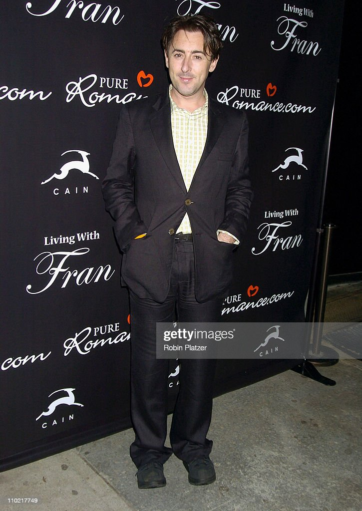 Alan Cumming during 'Living with Fran' Premiere Party Sponsored by PureRomance.com at Cain Lounge in New York City, New York, United States.