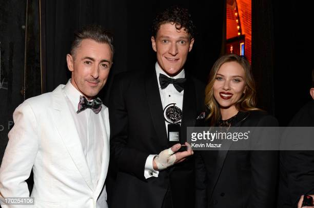 Alan Cumming Gabriel Ebert winner of the Tony Award for Best Performance by an Actor in a Featured Role in a Musical for 'Matilda the Musical' and...