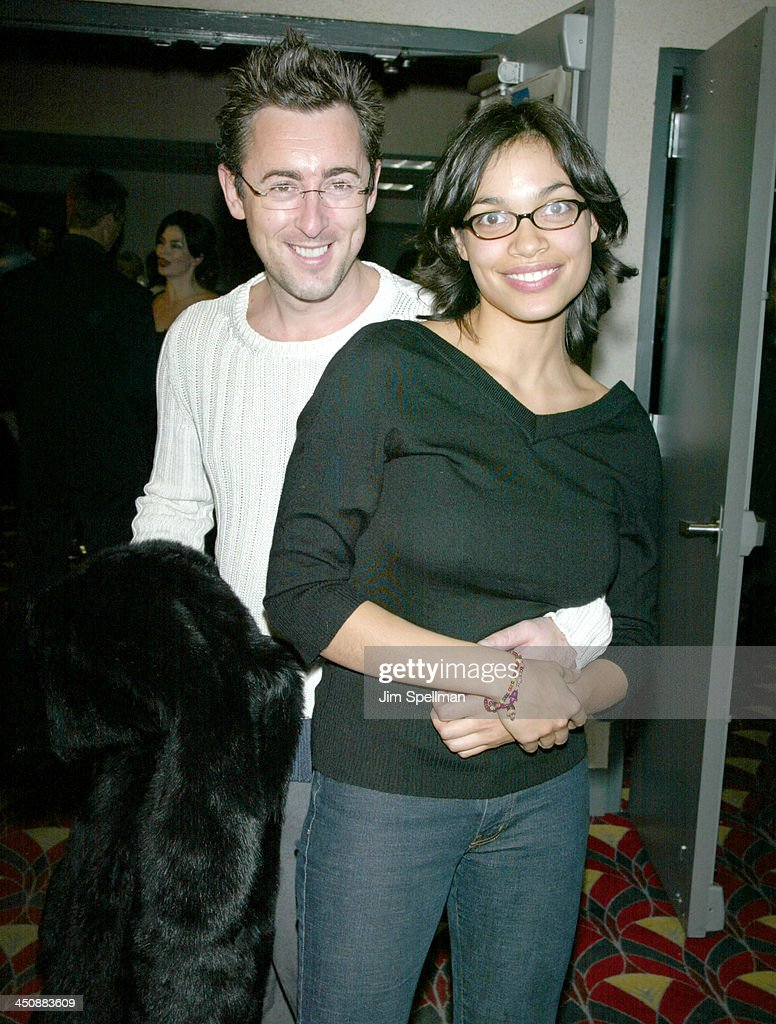 Alan Cumming Rosario Dawson during The New York Premiere of The Laramie Project at Loews Cineplex in New York City New York United States