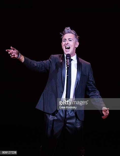 Alan Cumming sings sappy songs with friends at Carnegie Hall on February 8 2016 in New York City
