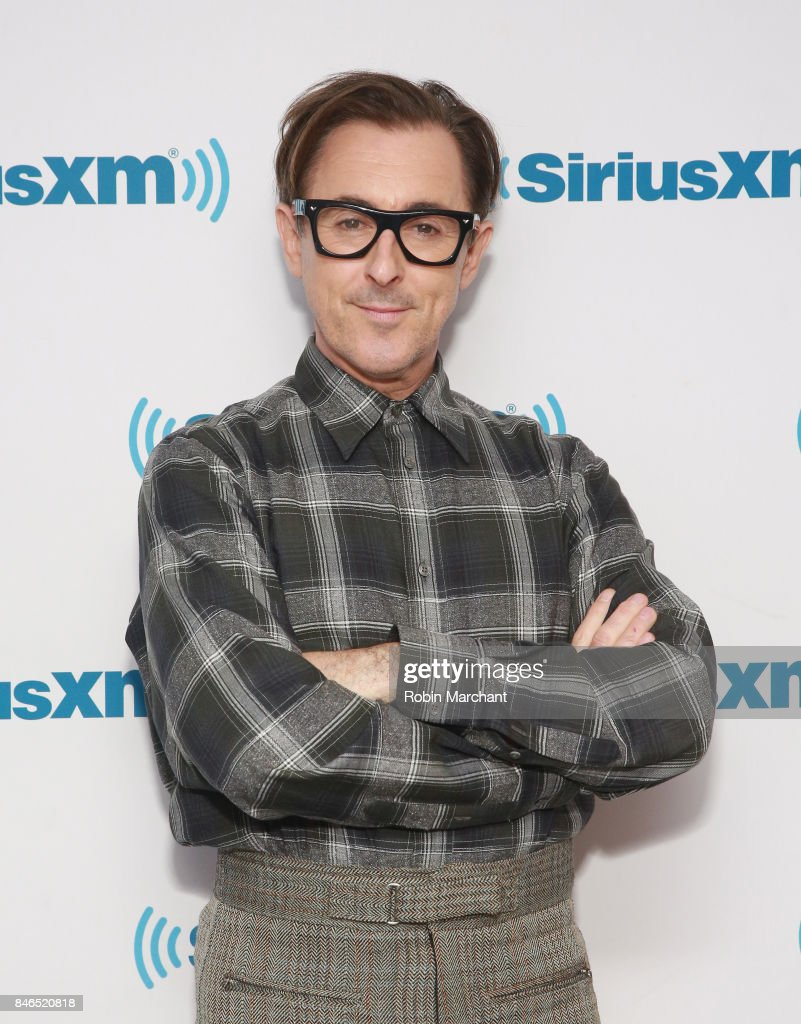 Alan Cumming visits at SiriusXM Studios on September 13, 2017 in New York City.