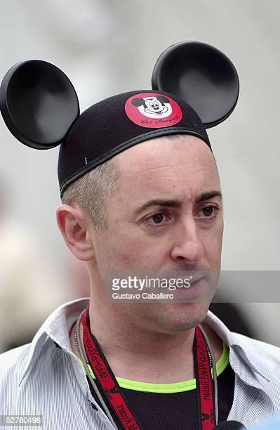 Alan Cummings poses at Walt Disney World's 'Happiest Celebration On Earth' on May 4 2005 in Orlando Florida