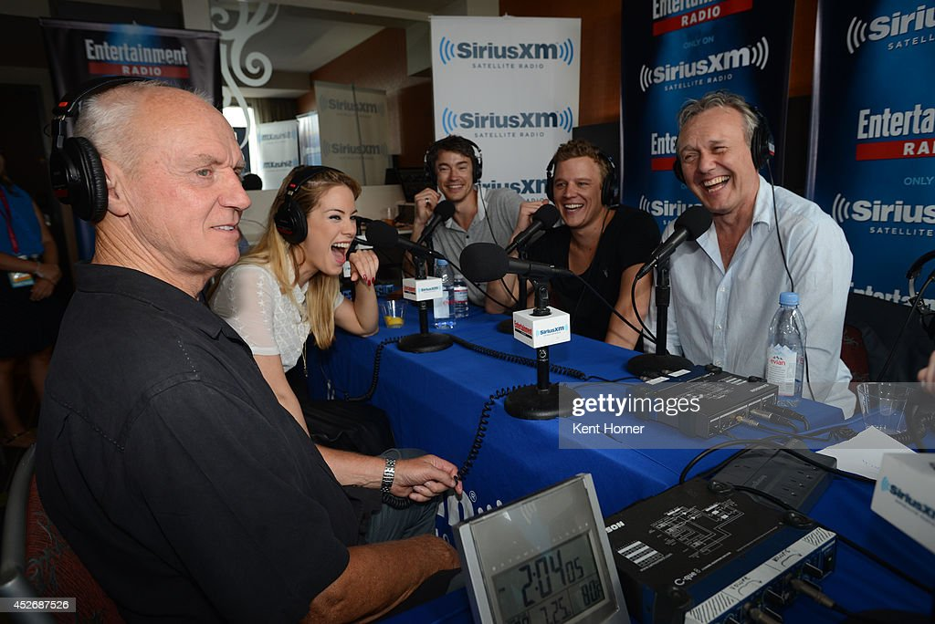 Alan Dale, Roxanne McKee, Chris Egan, Tom Wisdom and Anthony Stewart Head are interviewed on SiriusXM's Entertainment Weekly Radio channel from Comic-Con 2014 at The Hard Rock Hotel on July 25, 2014 in San Diego, California.