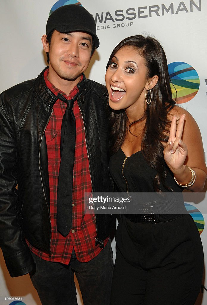 Alan Evangelista and Francia Raisa attend NBA All Star Party Hosted by Los Angeles Laker Pau Gasol at Sunset Marquis Hotel Villas on February 18 2011...