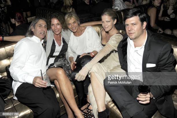Alan Finkelstein Jacqueline Schnabel Nadine Johnson Yvonne Force Villareal and Leo Villareal attend Party at WALL Hosted by VITO SCHNABEL STAVROS...