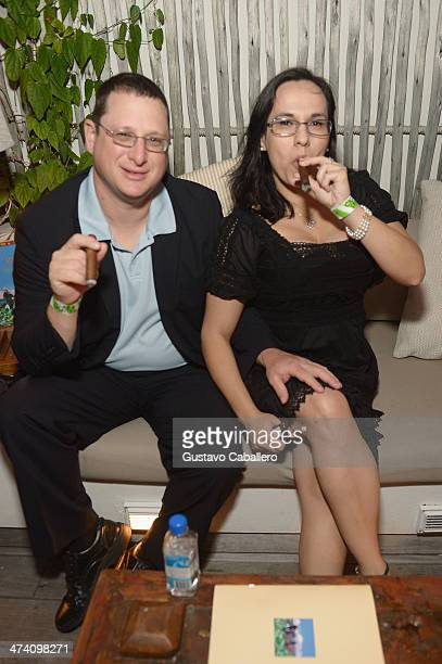 Alan Gottlieb and Lucy Gottlieb attends Cigars Spirits Presented By Montage Hotels Resorts Brought To You By Cigar Aficionado And Whisky Advocate...