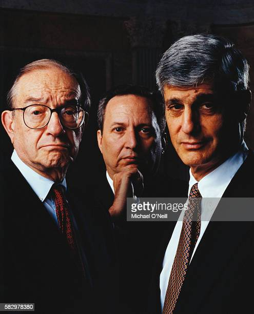 Alan Greenspan Robert Rubin and Larry Summers