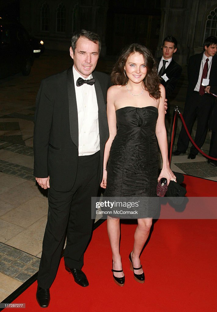 Alan Hansen with guest during Great Briton Awards 2006 - Arrivals at Guildhall in London, United Kingdom.