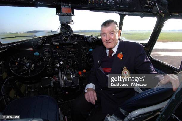 Alan Hartley gets reacquainted with the flight deck of the Douglas DC3Dakota at Coventry airport Friday December 9 2005 on the aircraft's 70th...