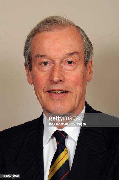 Alan Haselhurst Conservative MP for Saffron Walden is photographed in the Houses of Parliament in London