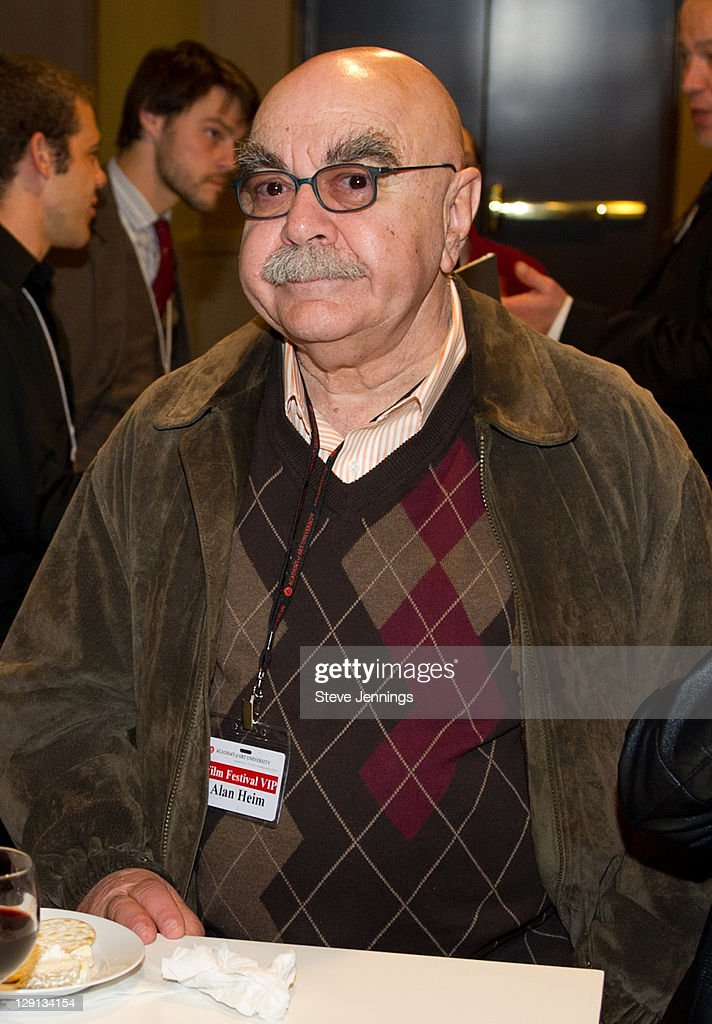 Alan Heim attends the Academy of Art University 5th Annual Epidemic Film Festival at Golden Gate Theatre on May 6 2011 in San Francisco California