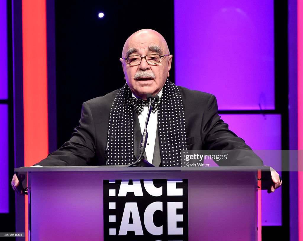 Alan Heim President ACE speaks onstage at the 65th Annual ACE Eddie Awards at the Beverly Hilton Hotel on January 30 2015 in Beverly Hills California