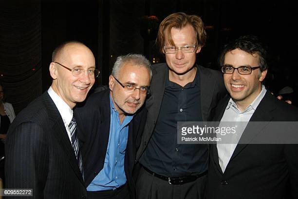 Alan Hergot Francesco Bonami Philippe Vergne and Douglas Fogle attend RICHARD PRINCE Honored on Occasion of SPIRITUAL AMERICA Solomon R Guggenheim...