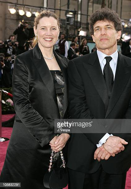 Alan Horn of Warner Bros and wife Cindy during The 77th Annual Academy Awards Executive Arrivals at Kodak Theatre in Hollywood California United...