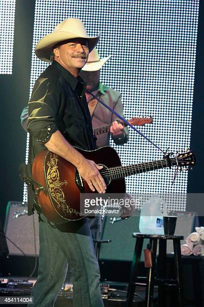 Alan Jackson performs at Caesars Atlantic City on August 24 2014 in Atlantic City New Jersey