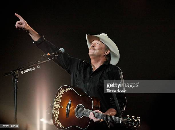 Alan Jackson performs at Honda Center on April 16 2016 in Anaheim California