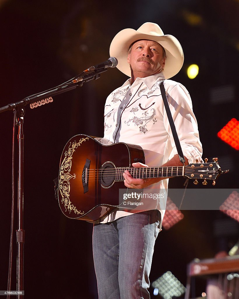 Alan Jackson performs at LP Field during day 1 of the 2015 CMA Festival on June 11 2015 in Nashville Tennessee