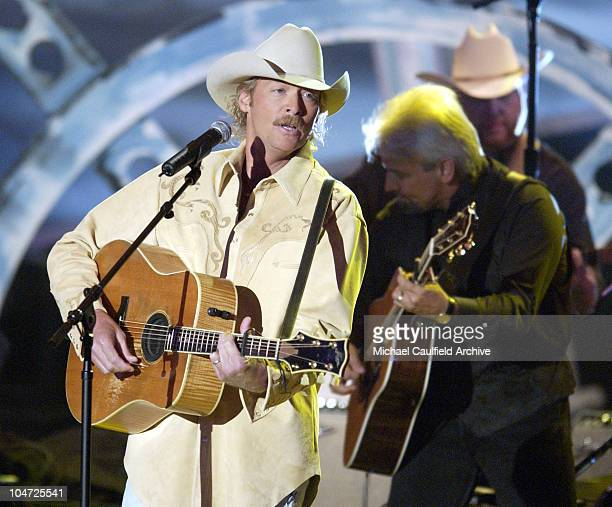 Alan Jackson performs 'Drive'at the 37th Academy of Country Music Awards at the Universal Amphitheater May 22 2002