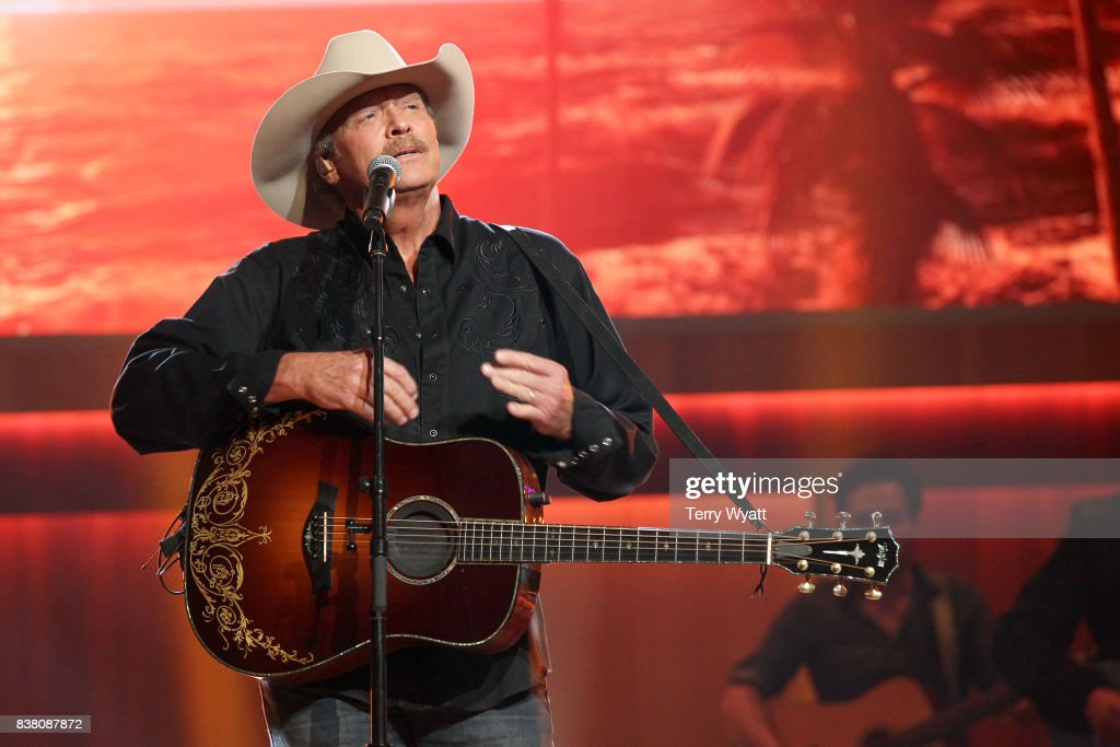 Alan Jackson performs onstage during the 11th Annual ACM Honors at the Ryman Auditorium on August 23, 2017 in Nashville, Tennessee.