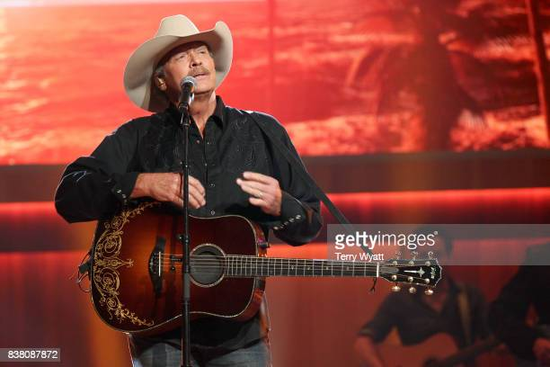 Alan Jackson performs onstage during the 11th Annual ACM Honors at the Ryman Auditorium on August 23 2017 in Nashville Tennessee