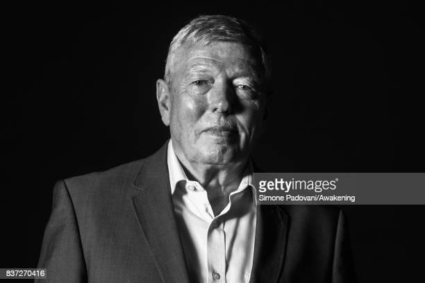 Alan Johnson attends a photocall during the Edinburgh International Book Festival on August 22 2017 in Edinburgh Scotland