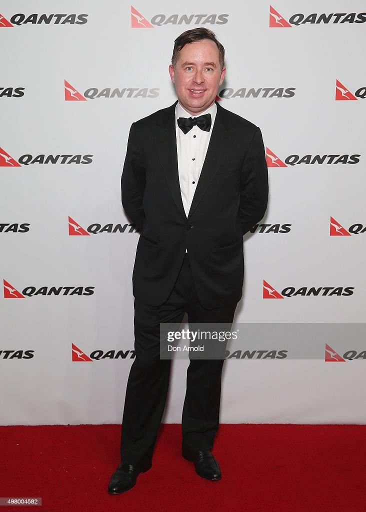 Alan Joyce arrives at the QANTAS 95th Birthday Gala Celebration at Hangar 96 in the Qantas Jetbase on November 20, 2015 in Sydney, Australia.
