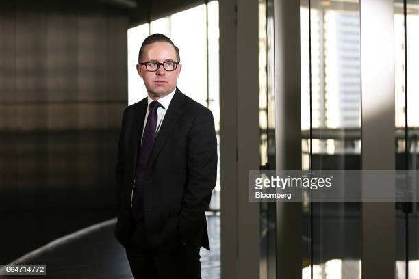 Alan Joyce chief executive officer of Qantas Airways Ltd poses for a portrait in Sydney Australia on Tuesday April 4 2017 The flood of cheap Chinese...
